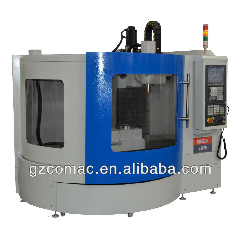 economical type 5 axis machining center for education and industrial proposal