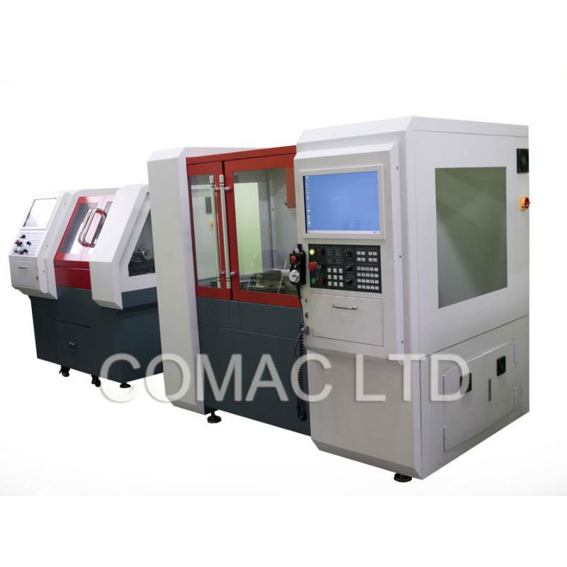 CNC multi-system machine for training